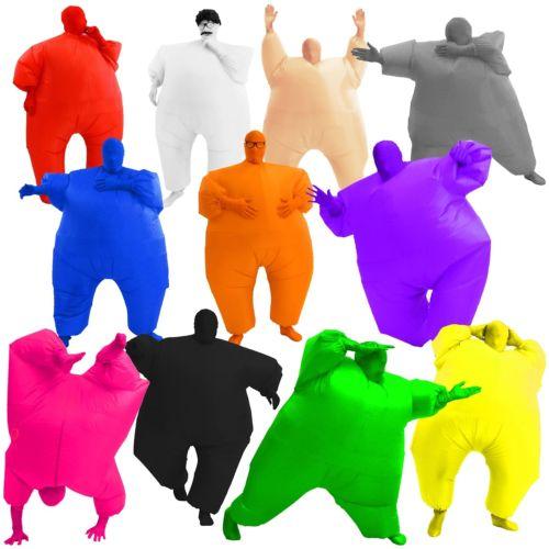 Chub スーツ インフレータブル (空気を入れるタイプ) 大人用 Funny Blow Up Fat クリスマス ハロウィン コスチューム コスプレ 衣装 変装 仮装