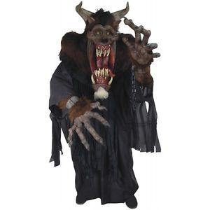 【マラソン全品P5倍】デーモン Beast Creature Reacher 大人用 怖い モンスター クリスマス ハロウィン コスチューム コスプレ 衣装 変装 仮装