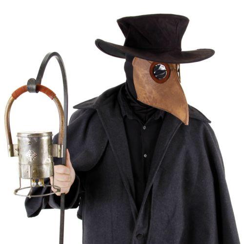 Plague Doctor Kit 大人用 Steampunk アクセサリー Set クリスマス ハロウィン コスチューム コスプレ 衣装 変装 仮装