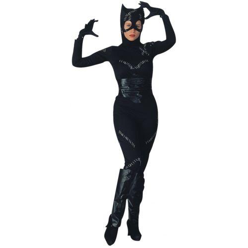 Catwoman 大人用 DC Comics DCコミックスCat Woman スーツ Catsuit ハロウィン コスチューム コスプレ 衣装 変装 仮装