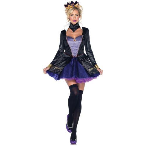 Evil Queen 大人用 Wicked おとぎ話 ハロウィン コスチューム コスプレ 衣装 変装 仮装