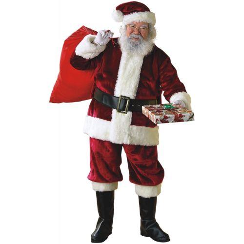 Santa Claus 大人用 Crimson スーツ クリスマス ハロウィン コスチューム コスプレ 衣装 変装 仮装