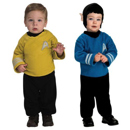 【ポイント最大29倍●お買い物マラソン限定!エントリー】Star Trek スター・トレックMovieベイビー-Newborn-Infant-Toddler Romper ハロウィン コスチューム コスプレ 衣装 変装 仮装