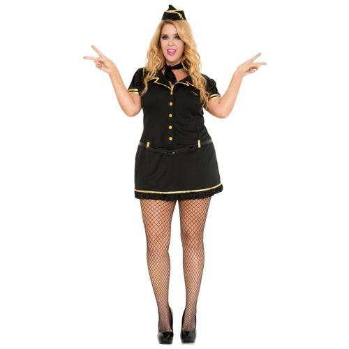 Mile High Club Stewardess 大人用 ハロウィン コスチューム コスプレ 衣装 変装 仮装