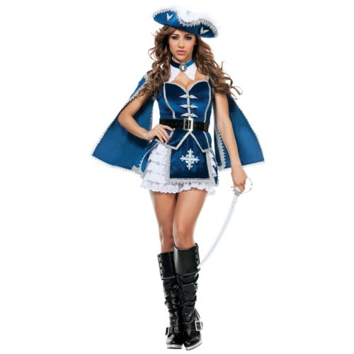 <title>All For You Musketeer Costume Adult Halloween 新品 送料無料 Fancy Dress 全品ポイント5倍 大人用 クリスマス ハロウィン コスチューム コスプレ 衣装 変装 仮装</title>