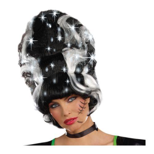 【ポイント最大29倍●お買い物マラソン限定!エントリー】Bride of Frankenstein ウィッグ レディス 女性用 ハロウィン コスチューム コスプレ 衣装 変装 仮装