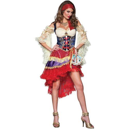 Gypsyレディス 女性用 Fortune Teller 大人用 ハロウィン コスチューム コスプレ 衣装 変装 仮装