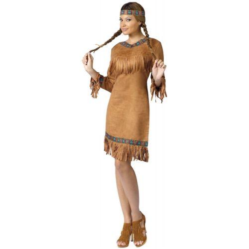 Native American 大人用 インディアン プリンセス 王女様 Pocahontas ハロウィン コスチューム コスプレ 衣装 変装 仮装