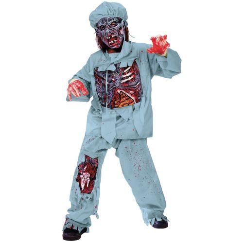 ゾンビ 幽霊 お化け Doctor キッズ 子供用 怖い Horror ハロウィン コスチューム コスプレ 衣装 変装 仮装