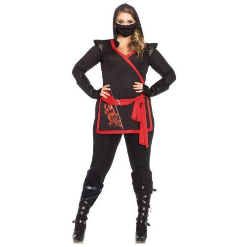 【ポイント最大29倍●お買い物マラソン限定!エントリー】Ninja 大人用 レディス 女性用 ハロウィン コスチューム コスプレ 衣装 変装 仮装