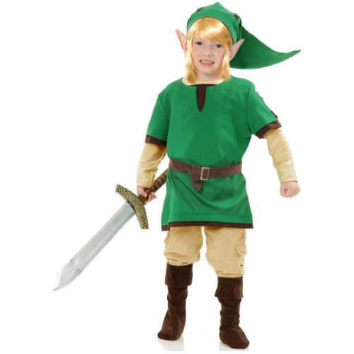Link 子供用 ガールズ Elf Warrior Elf Legend 変装 of 仮装 Zelda ハロウィン コスチューム コスプレ 衣装 変装 仮装, ツクイマチ:571f2ae9 --- officewill.xsrv.jp