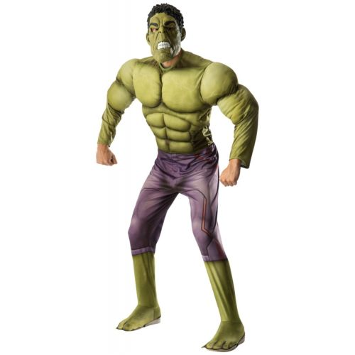 【ポイント最大29倍●お買い物マラソン限定!エントリー】Hulk 大人用 Avengers アベンジャーズ スーパーヒーロー ハロウィン コスチューム コスプレ 衣装 変装 仮装