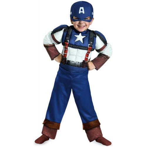 Captain America キャプテンアメリカ Retro Muscleベイビー Captain America キャプテンアメリカ ハロウィン コスチューム コスプレ 衣装 変装 仮装