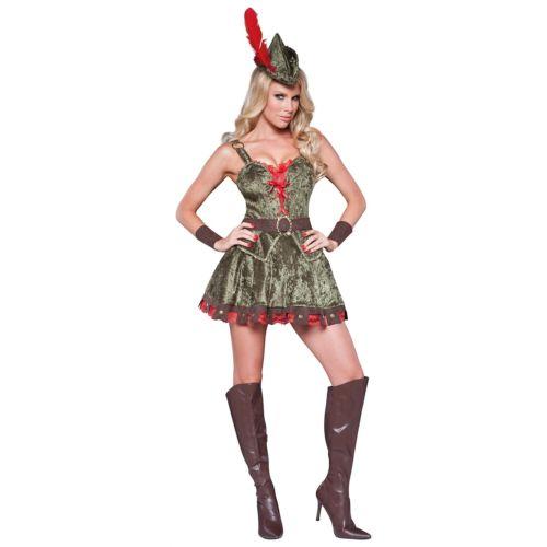 ロビンフッドレディス 女性用 大人用 クリスマス ハロウィン コスチューム コスプレ 衣装 変装 仮装