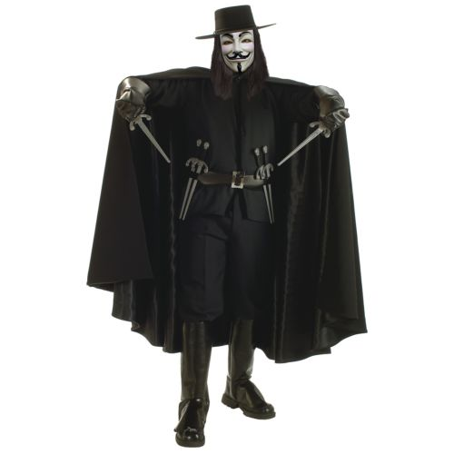 Super Dlx V 衣装 for 仮装 Vendetta 大人用 男性用 メンズ コスチューム Grand Heritage Collection Guy Fawkes ハロウィン コスチューム コスプレ 衣装 変装 仮装, 富士川町:5da372e5 --- officewill.xsrv.jp