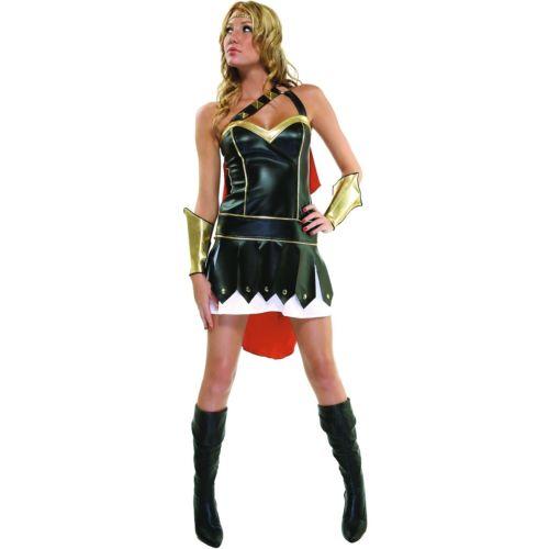 Glam Gladiatrix 大人用 Roman Gladiator ハロウィン コスチューム コスプレ 衣装 変装 仮装