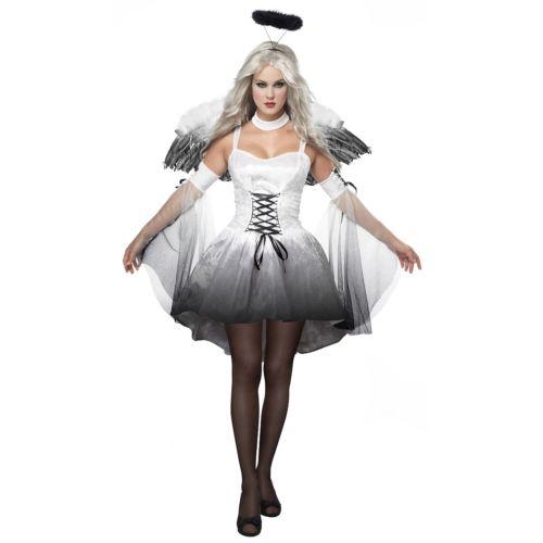 エンジェル 天使 Of Darkness 大人用 クリスマス ハロウィン コスチューム コスプレ 衣装 変装 仮装