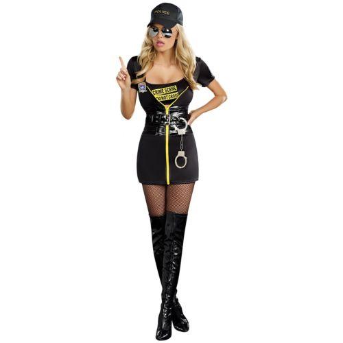 CSI 大人用 セクシー Police ポリス 警察 おまわりさん レディス 女性用 ハロウィン コスチューム コスプレ 衣装 変装 仮装