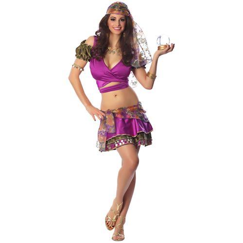 Gypsy 大人用 セクシー Fortune Teller ハロウィン コスチューム コスプレ 衣装 変装 仮装