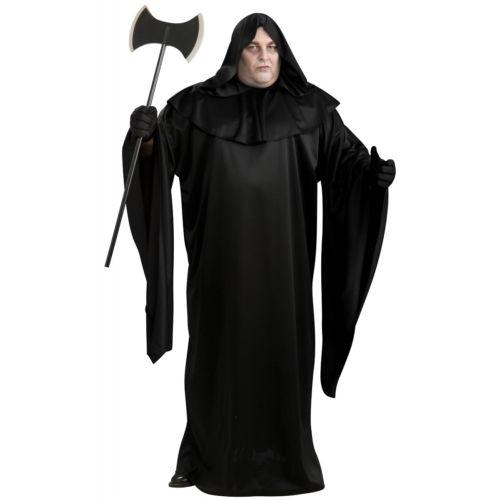 ブラック Hooded ローブ プラスサイズ 大きいサイズ Hooded Grim ReaperDeath ローブ ハロウィン Grim コスチューム コスプレ 衣装 変装 仮装, オブセマチ:285fb31c --- officewill.xsrv.jp