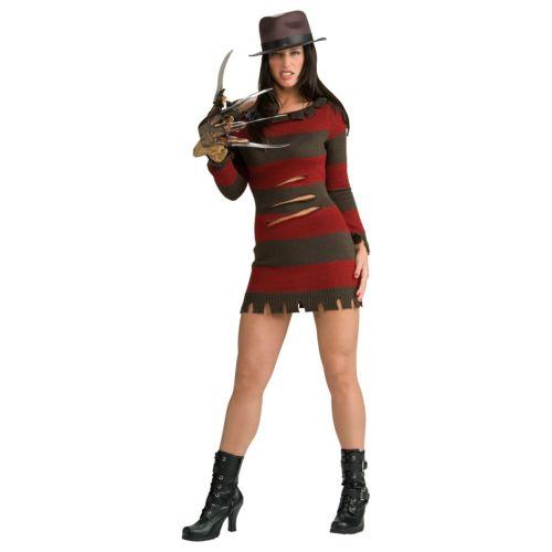 Miss Krueger 大人用 Nightmare on Elm Street Fレッドdy クリスマス ハロウィン コスチューム コスプレ 衣装 変装 仮装