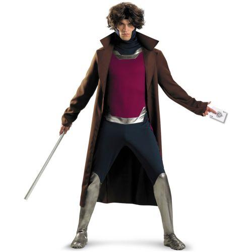 Gambit 大人用 衣装 Marvel マーブルUniverse X-Men 大人用 エックスメン ハロウィン X-Men コスチューム コスプレ 衣装 変装 仮装, 季折:1176367a --- officewill.xsrv.jp