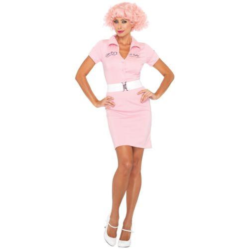 【ポイント最大29倍●お買い物マラソン限定!エントリー】Grease Frenchy 大人用 レディス 女性用 50s ハロウィン コスチューム コスプレ 衣装 変装 仮装