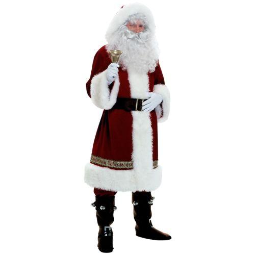 SantaDeluxe Victorian サンタクロース スーツ クリスマス クリスマス ハロウィン コスチューム コスプレ 衣装 変装 仮装