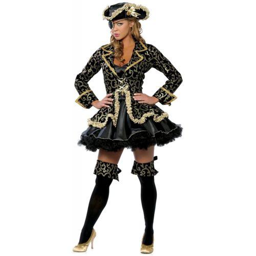 【全品P5倍】Deluxe Pirate 大人用 Colonial クリスマス ハロウィン コスチューム コスプレ 衣装 変装 仮装