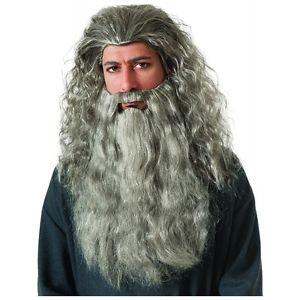 【ポイント最大29倍●お買い物マラソン限定!エントリー】Gandalf Wig & クマ 熊d 大人用 The Hobbit ホビット ハロウィン コスチューム コスプレ 衣装 変装 仮装