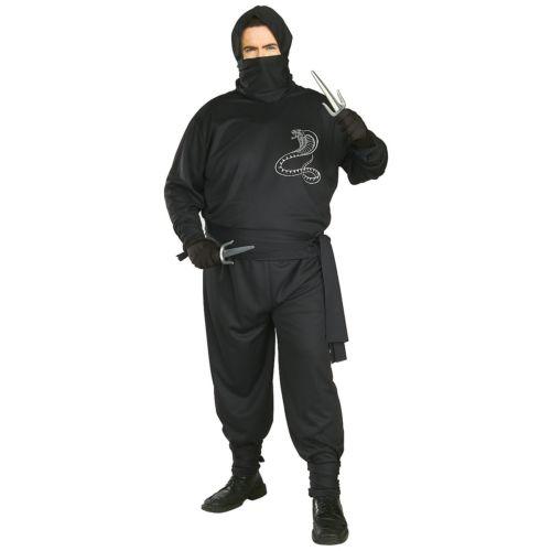【店内全品P5倍】Ninja 大人用 Beverly Hills ブラック スーツ クリスマス ハロウィン コスチューム コスプレ 衣装 変装 仮装
