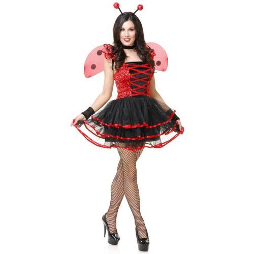 Ladybug Cutie 大人用 ハロウィン コスチューム コスプレ 衣装 変装 仮装
