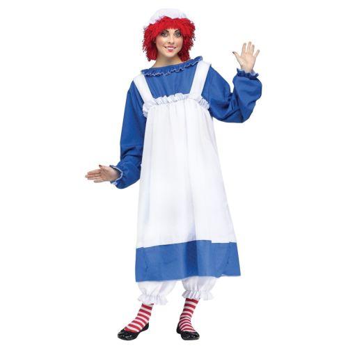 Raggedy Ann 大人用 Raggedy Ann クリスマス ハロウィン コスチューム コスプレ 衣装 変装 仮装