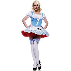 Dorothy ガール 大人用 オズの魔法使い ハロウィン コスチューム コスプレ 衣装 変装 仮装
