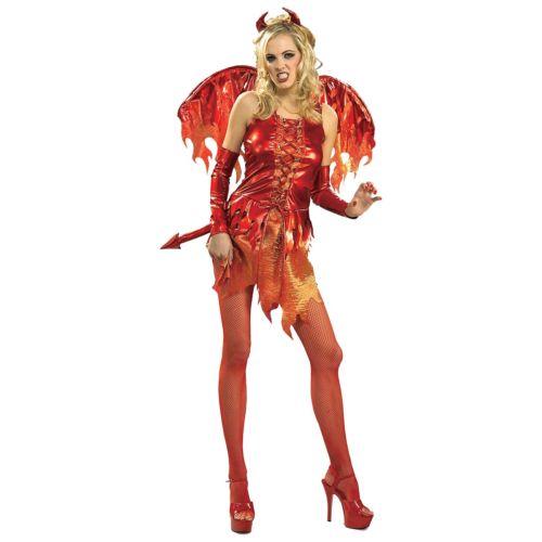 セクシー デビル 悪魔 大人用 レディス 女性用 クリスマス ハロウィン コスチューム コスプレ 衣装 変装 仮装