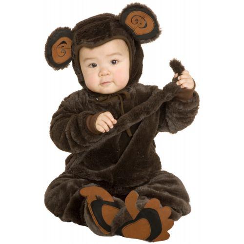 モンキーお猿 サルfor ベイビー ハロウィン コスチューム コスプレ 衣装 変装 仮装