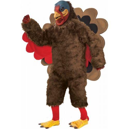 Deluxe Plush Turkey Costume Adult 推奨 Thanksgiving Fancy Dress 全品ポイント5倍 変装 クリスマス 仮装 大人用 安心の実績 高価 買取 強化中 衣装 コスプレ コスチューム ハロウィン