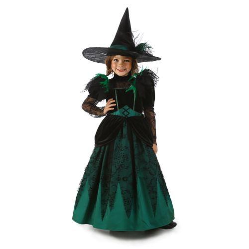 Wicked 魔女 of The West キッズ 子供用 オズの魔法使い クリスマス ハロウィン コスチューム コスプレ 衣装 変装 仮装