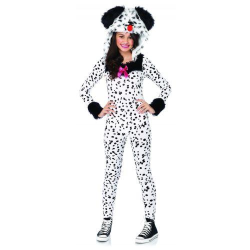 DalmatianTeen ガール Puppy Dog ハロウィン コスチューム コスプレ 衣装 変装 仮装