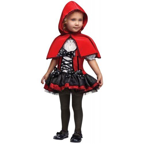 【全品P5倍】Little Red Riding HoodToddler Fairy Tale クリスマス ハロウィン コスチューム コスプレ 衣装 変装 仮装