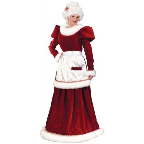 Mrs Claus 大人用 レディス 女性用 Santa Outfit クリスマス クリスマス ハロウィン コスチューム コスプレ 衣装 変装 仮装
