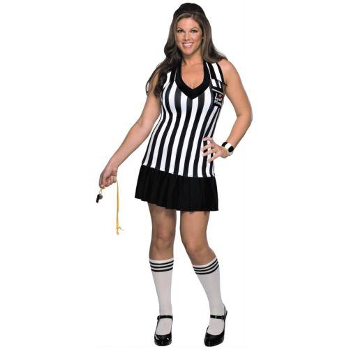 Referee 大人用 レディス 女性用 Ref 女神 クリスマス ハロウィン コスチューム コスプレ 衣装 変装 仮装