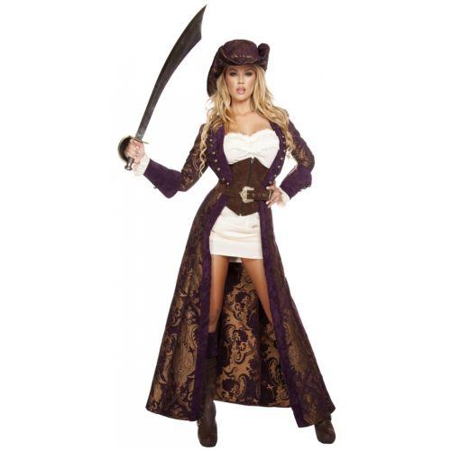 【全品P5倍】Decadent Pirate Diva 大人用 クリスマス ハロウィン コスチューム コスプレ 衣装 変装 仮装