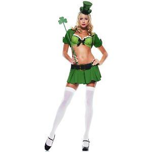 Charmed Leprechaun 大人用 セクシー セクシー Irish Dancer St. Patrick's Day ハロウィン コスチューム コスプレ 衣装 変装 仮装