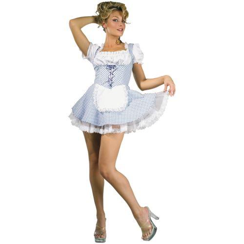 Countryガールオズの魔法使い大人用セクシーDorothyStd/プラスサイズ大きいサイズハロウィンコスチュームコスプレ衣装変装仮装