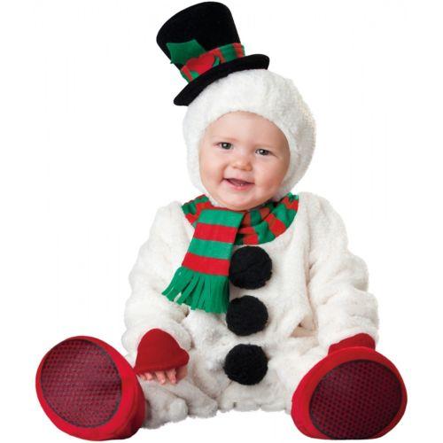 【ポイント最大29倍●お買い物マラソン限定!エントリー】Snowmanfor ベイビー クリスマス Outfit Frosty ハロウィン コスチューム コスプレ 衣装 変装 仮装