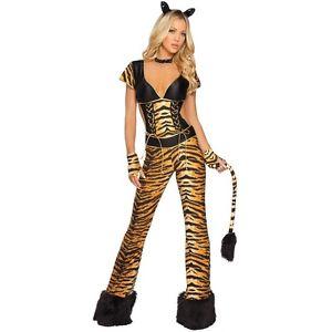 【ポイント最大29倍●お買い物マラソン限定!エントリー】セクシー タイガー 大人用 Tigress Jungle Cat ハロウィン コスチューム コスプレ 衣装 変装 仮装