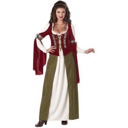 メイド Marian 大人用 Medieval/Renaissance Fair Wench クリスマス ハロウィン コスチューム コスプレ 衣装 変装 仮装