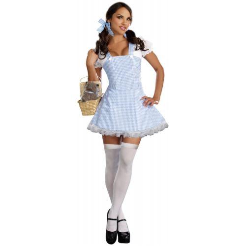 Dorothy 大人用 セクシー ブルー Gingham ドレス ハロウィン コスチューム コスプレ 衣装 変装 仮装