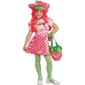 Deluxe Strawberry Shortcake ストロベリーショートケーキ キッズ 子供用 ハロウィン コスチューム コスプレ 衣装 変装 仮装